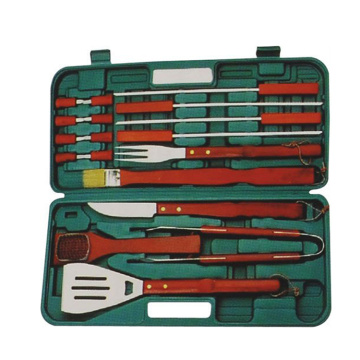 Outils de barbecue 18pieces set outdoor
