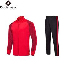 2017 OEM design personnalisé Mens polyester survêtement, survêtement, costume de sport