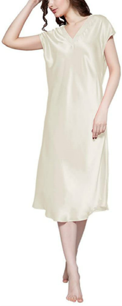 Beige Nightgown Sleepwear