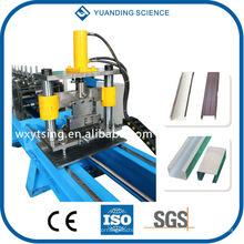 YTSING-YD-4047 pasó ISO y CE Hidráulica C Z rodillo de Purlin formando la máquina WuXi, forma C formando la máquina