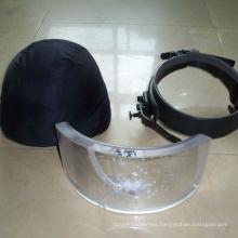 bullet proof visor break resistant glass mask