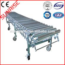 high quality tempering glass line ceramic roller conveyor