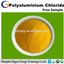 polymer poly aluminium chloride water treatment materials supplier