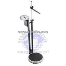Height and weight measuring stand