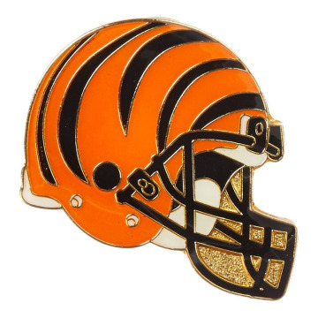 Collectible Football Helm Gevormde Revers Pin