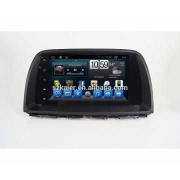 Neueste Android 7.1 Qcta Kern für Mazda CX-5 2014/2015 Serie mit BT / MirrorLink / RADIO / TV / MP3 / MP4