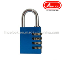 Solid Aluminium Alloy 3-4 Digits Combination Code Padlock (501)