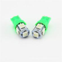 La lámpara universal del freno de la luz de giro del grado superior 5050 5SMD llevó el bulbo T10 del coche