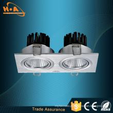 O dobro da ESPIGA 10W do fornecedor de Guangzhou dirige a luz de teto do painel do diodo emissor de luz