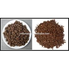 Areia de manganês em tratamento de água / ferro filtro de areia de manganês / areia de manganês