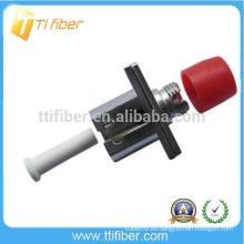 LC-FC Adaptador de fibra óptica hembra a hembra