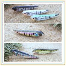 PLL002 6 CM 10gshandong weihai aparejos de pesca lápiz duro señuelo de la pesca