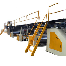 China Manufacture 3 Ply Corrugated Cardboard Production Line For A,C,B,E,F Flute paperboard