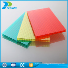 Crystal clear architectural roof polycarbonate light transmission transparent mat panels