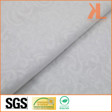 Polyester White Embross Wide Width Inherently Fire Retardant Fireproof Voile