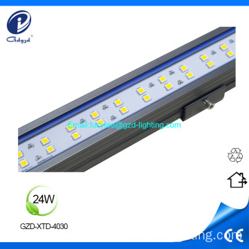Luminaria de 24W alumunium IP65 impermeable led lineal
