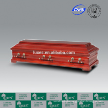 LUXES German Popular Sale Wooden Coffins With Outstanding Coffins Prices