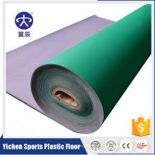 club de fitness PVC Revêtement de sol Gym Floor Vinyl