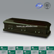 Ataúd de madera estilo americano completo sofá ataúdes de diseño de LUXES chino