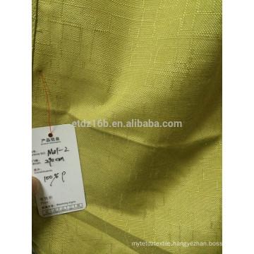 New arrival 100% Polyester Plain Curtain & Curtain fabric