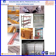 2015 Оцинкованная сталь Q235 Проволочная сетка для стеллажей для поддонов