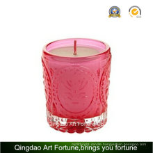 Cheap Filled Votive Glass Candle for Party Wedding Decor