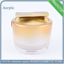 Neue Design Großhandel Kosmetik Glas Container Acryl Verpackung Container Glas