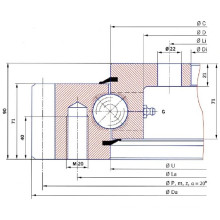 Торсионное фланцевое кольцо E. 505.20.00. C (тип E. 20. C)