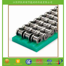 Rail de guidage de convoyeur en plastique de bonne partie matérielle