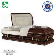 Cofre madera de JS-A635 crepe cremación