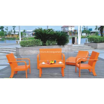 Moderne bunte Gartenmöbel Sessel Sofas