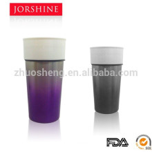 2015 new popular ceramic coffee mug with Gradient finish