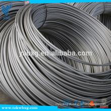 China ASTM 304 haste de fio de aço inoxidável 1mm com certificação BV