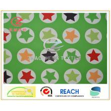 320t Поли Taslon Star Стиль печати, ПУ покрытие, ткань одежды (ZCGP065)