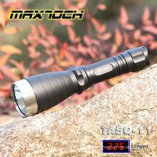 Maxtoch TA5Q-11 Deep Reflector Long Range 18650 Flashlight LED Q5