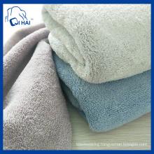 Good Quality Microfiber Fleece Towel (QSCS88909)