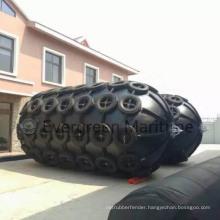 Diameter 2000 Mm X Length 3500 Mm Yokohama Floating Pneumatic Fenders/ Sling Type and Tire Net