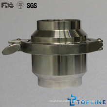 Válvula de control soldada de acero inoxidable sanitario (nuevo diseño)