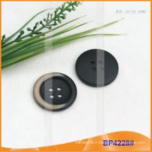 Bouton en polyester / bouton en plastique / bouton en résine pour manteau BP4228
