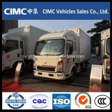 Sinotruk HOWO 5 Tons 4X2 Camiones refrigerados en venta