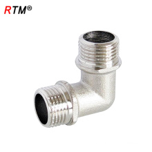 A 17 4 13 double male elbow of 90 degree elbow double male pipe fitting equal elbow