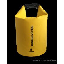 Saco seco de lona de PVC 5L 250D
