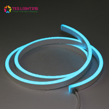 Tira de neón LED RGB flexible de 24 V
