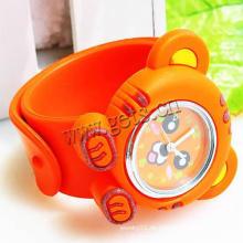 Gets.com Silikon mehrfarbige Slap auf die Uhr für Kinder
