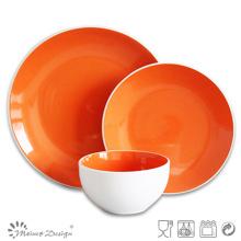 Juego de cena de cerámica de la gres 18PCS