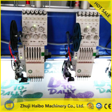 sequins embroidery table cloth on offwhite organza sequin embroidery machine part double seuqin machine