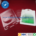 PET transparent 9 compartiments plastique carte blister