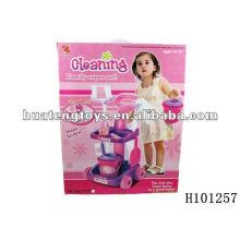 2012 neue Art fördernde ABS-Plastikreinigungsspielzeug-Satz H101257