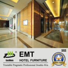 Modern Style Star Hotel Innenansicht Wooden Wall Panel (EMT-F2117)