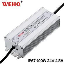 IP67 étanche 100W 24V commutation alimentation LED